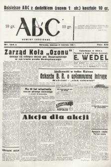 ABC : nowiny codzienne. 1938, nr124 A