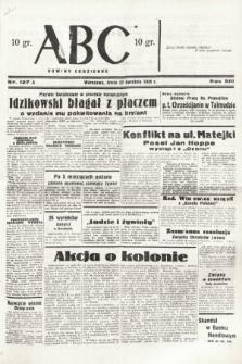 ABC : nowiny codzienne. 1938, nr127 A