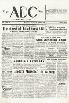 ABC : nowiny codzienne. 1938, nr128 A