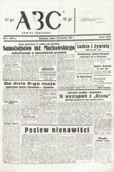 ABC : nowiny codzienne. 1938, nr130 A