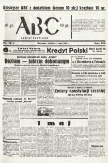ABC : nowiny codzienne. 1938, nr131 A