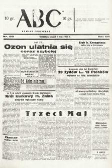 ABC : nowiny codzienne. 1938, nr133 A