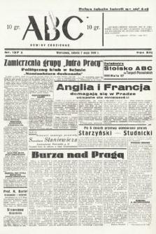 ABC : nowiny codzienne. 1938, nr137 A