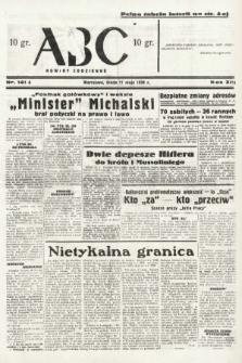 ABC : nowiny codzienne. 1938, nr141 A