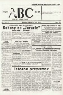 ABC : nowiny codzienne. 1938, nr142 A