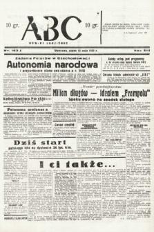 ABC : nowiny codzienne. 1938, nr143 A