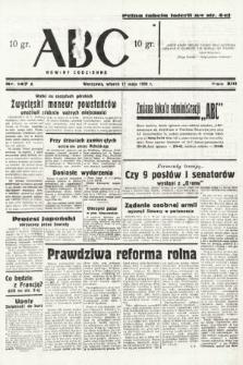 ABC : nowiny codzienne. 1938, nr147 A