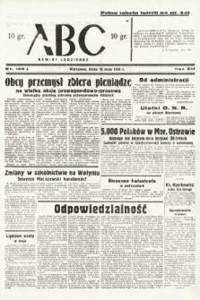 ABC : nowiny codzienne. 1938, nr148 A