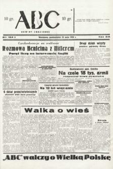 ABC : nowiny codzienne. 1938, nr154 A