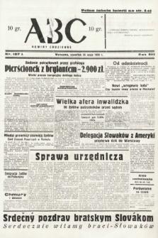 ABC : nowiny codzienne. 1938, nr157 A
