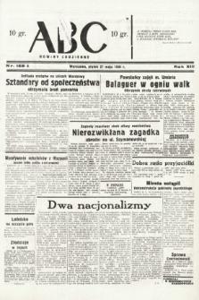 ABC : nowiny codzienne. 1938, nr158 A