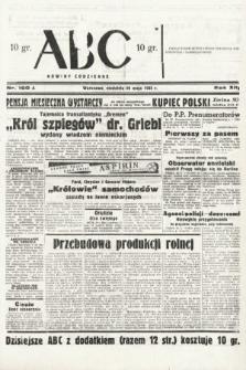 ABC : nowiny codzienne. 1938, nr160 A