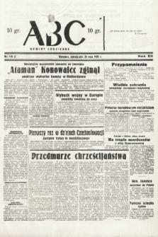 ABC : nowiny codzienne. 1938, nr161 A