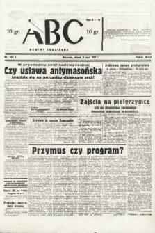 ABC : nowiny codzienne. 1938, nr162 A