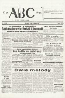 ABC : nowiny codzienne. 1938, nr163 A