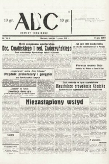 ABC : nowiny codzienne. 1938, nr164 A
