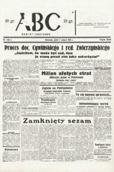 ABC : nowiny codzienne. 1938, nr165 A