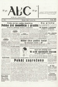 ABC : nowiny codzienne. 1938, nr166 A