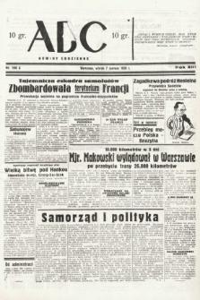 ABC : nowiny codzienne. 1938, nr168 A