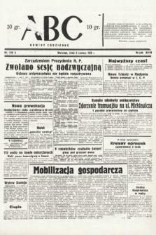 ABC : nowiny codzienne. 1938, nr169 A