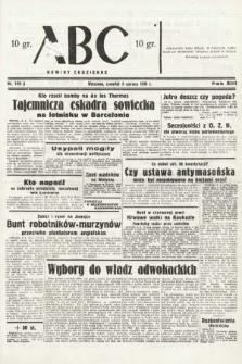 ABC : nowiny codzienne. 1938, nr170 A