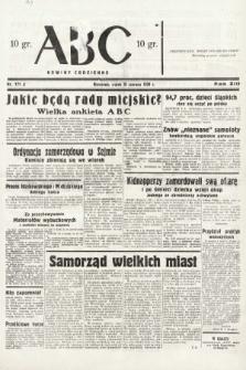 ABC : nowiny codzienne. 1938, nr171 A