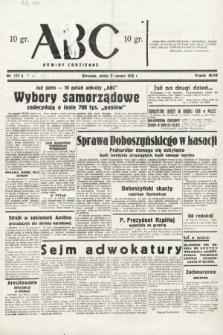 ABC : nowiny codzienne. 1938, nr172 A