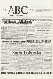 ABC : nowiny codzienne. 1938, nr175 A