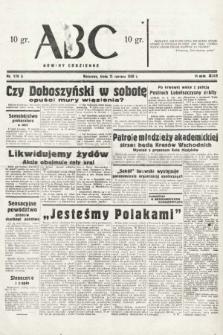 ABC : nowiny codzienne. 1938, nr176 A