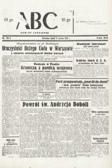 ABC : nowiny codzienne. 1938, nr178 A
