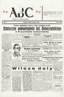 ABC : nowiny codzienne. 1938, nr179 A