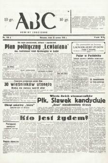 ABC : nowiny codzienne. 1938, nr183 A
