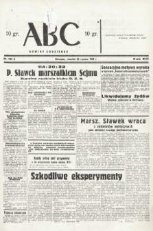 ABC : nowiny codzienne. 1938, nr184 A