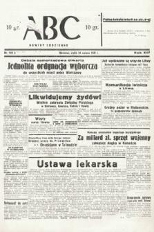 ABC : nowiny codzienne. 1938, nr185 A