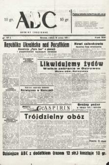 ABC : nowiny codzienne. 1938, nr187 A