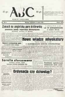 ABC : nowiny codzienne. 1938, nr188 A