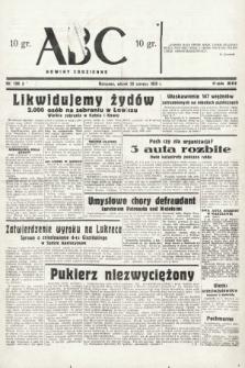 ABC : nowiny codzienne. 1938, nr189 A