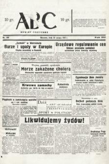 ABC : nowiny codzienne. 1938, nr190