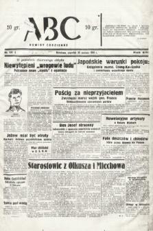ABC : nowiny codzienne. 1938, nr191 A