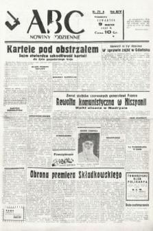 ABC : nowiny codzienne. 1939, nr71 A