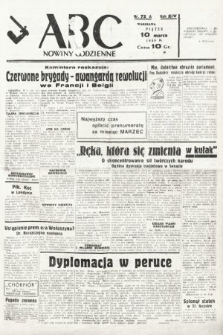 ABC : nowiny codzienne. 1939, nr72 A