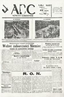 ABC : nowiny codzienne. 1939, nr89 A
