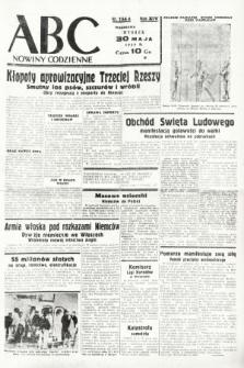 ABC : nowiny codzienne. 1939, nr154 A