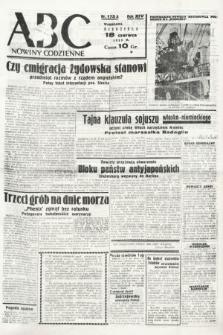 ABC : nowiny codzienne. 1939, nr173 A