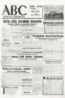 ABC : nowiny codzienne. 1939, nr203 A