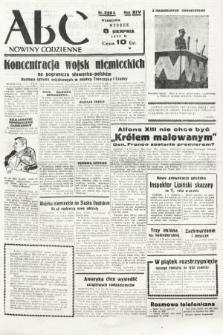 ABC : nowiny codzienne. 1939, nr229 A