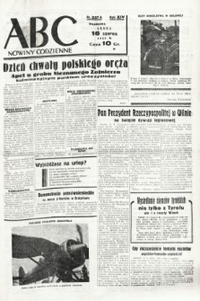 ABC : nowiny codzienne. 1939, nr237 A
