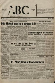 ABC : nowiny codzienne. 1938, nr193 A