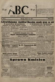 ABC : nowiny codzienne. 1938, nr196 A