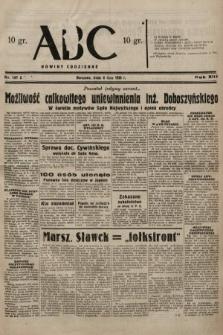 ABC : nowiny codzienne. 1938, nr197 A